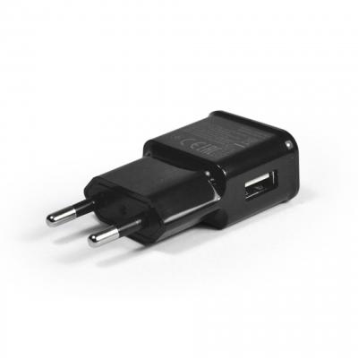 USB eszközök - Hálózati töltő 1xUSB aljzattal 2A Powermax PMCHBLK