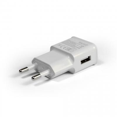USB eszközök - Hálózati töltő 1xUSB aljzattal 2A Powermax PMCHWHT