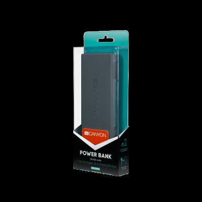 Akku, elem - Canyon Power Bank 10000mAh CNE-CPBF100DG