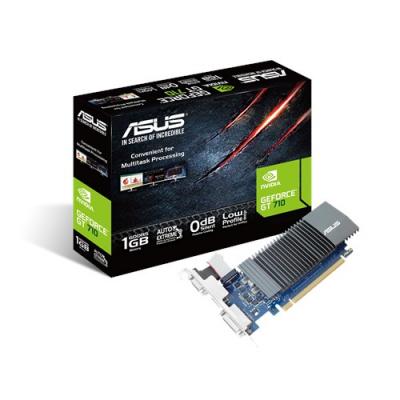 Videókártya - ASUS GT710 1GB GDDR5 PCI-E VGA (GT-710-SL-1GD5)