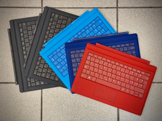 Microsoft Surface Pro kiegészítők - Microsoft Surface Pro billentyűzet Type Cover 1