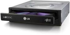 Optikai meghajtó - LG GH24NSD5 SATA Fekete DVD író