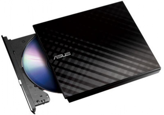 Optikai meghajtó - ASUS SDRW-08D2S-U Lite USB DVD író fekete