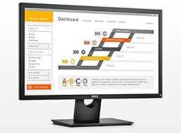 Monitor - Dell E2417h 24