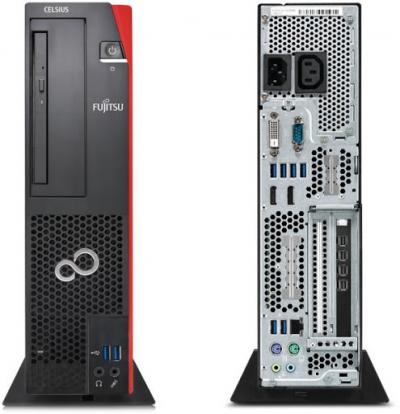 Használt számítógép - Fujitsu Celsius J550 SFF