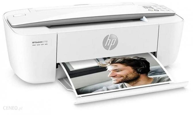 Tintasugaras nyomtató - HP Deskjet 3750 Multifunkciós WIFI tintasugaras nyomtató, scanner, másoló