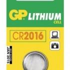 Akku, elem - GP gombelem CR2016 lithium