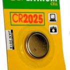Akku, elem - GP gombelem CR2025 lithium