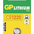 Akku, elem - GP gombelem CR1220 lithium