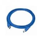 USB kábel - KÁBEL USB 3.0 HOSSZABBÍTÓ KÁBEL 1,8M GEMBIRD(CCP-USB3-AMAF-6)KÉK